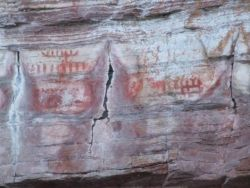Pictographs-kayak adventure